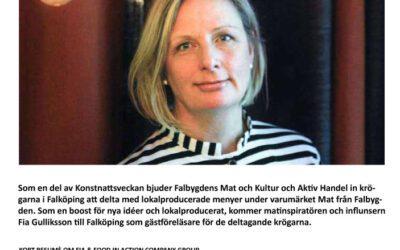 Föreläsning med Fia Gulliksson 20 september 2021.